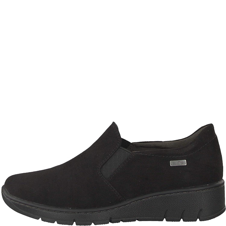 Jana Damen Slipper schwarz Weite-H Weite-H schwarz Wechselfußbett Gr. 37-41 und Tex-Membrane 05a0a2