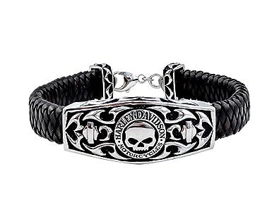 Amazoncom HarleyDavidson Mens 925 Silver Willie G Skull Tribal