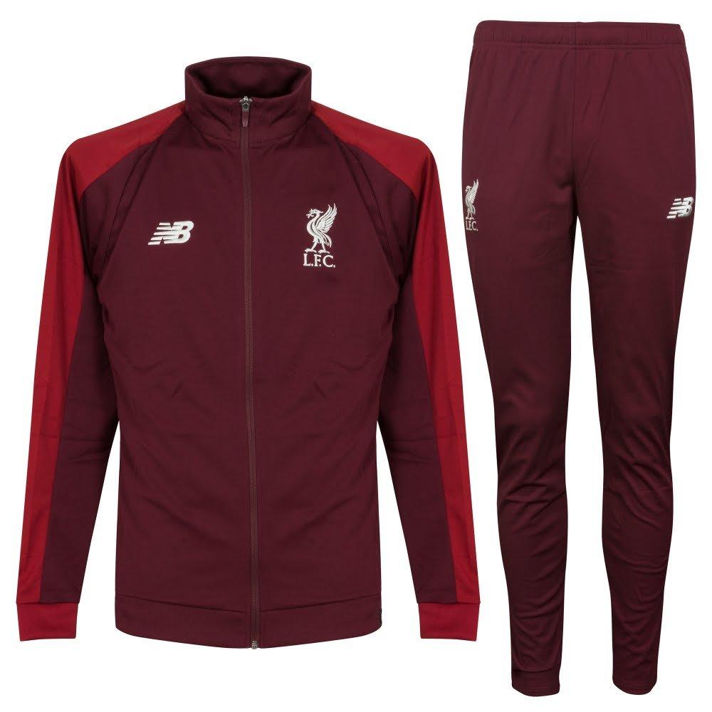 Liverpool Trainingsanzug - Dunkelrot 2018 2019 - XL