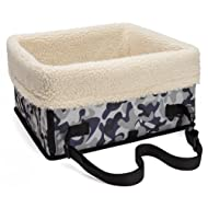 Pidsen Pet Waterproof Easy Folding Car Seat Carrier Car Booster Seat for Small Dogs Cats Animals