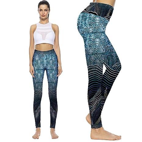 Globaltrade001 Leggins Mujer Yoga Push Up Pantalone ...