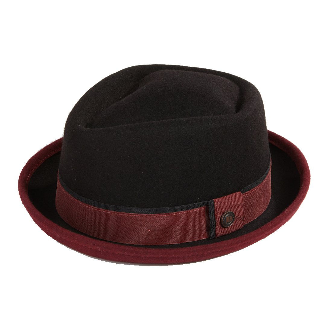 Dasmarca Edward Crushable & Packable Winter Porkpie Wool Hat