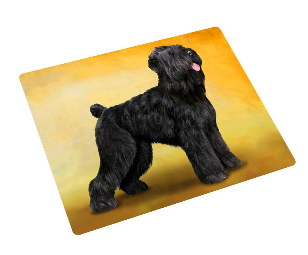 Black Russian Terrier Dog Rectangle Envelope Seals (50)