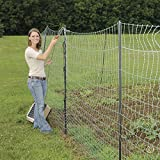 Premier Deer and Livestock Electric Netting Fence, Green/White/Black, 19/68/6 - 68