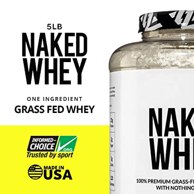 Naked Whey 100% Grass Fed Whey Protein Powder