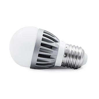 Generic G16 Bombilla LED de 4 Watts 300 lúmenes E26 Base estándar 25 W bombilla incandescente