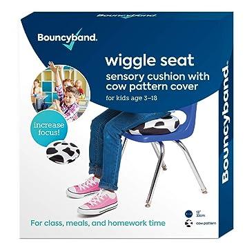 Amazon.com: Bouncyband Wiggle Seat - Funda de patrón de vaca ...