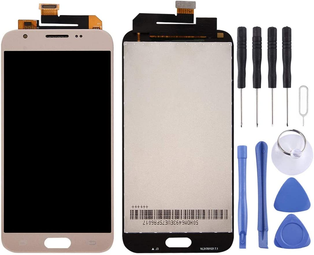 Tianu Guantianyong 50 PCS 250um OCA Optically Clear Adhesive for Galaxy S6 LCD Screen and Digitizer Full Assembly for Galaxy J7 Duo // J720 New in 2020 Color : Gold Black