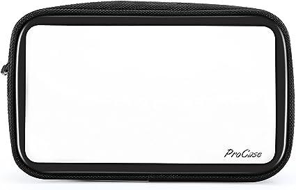 Amazon.com: ProCase TSA Bolsa de aseo de viaje, transparente ...