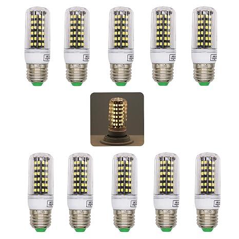 bombilla LED 2835 SMD E27 Lámparas, 220 V, blanco cálido 2800 – 3200 K