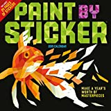 Paint by Sticker Wall Calendar 2019
