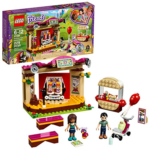LEGO Friends Andreas Park Performance 41334 Building Set (229 Piece)