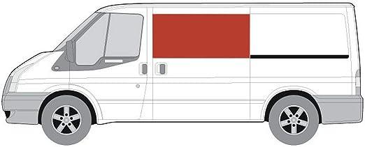 Mano izquierda claro fijo ventana lateral para Ford Transit MK6/7 (00 – 13) [SWB] puerta corredera: Amazon.es: Coche y moto