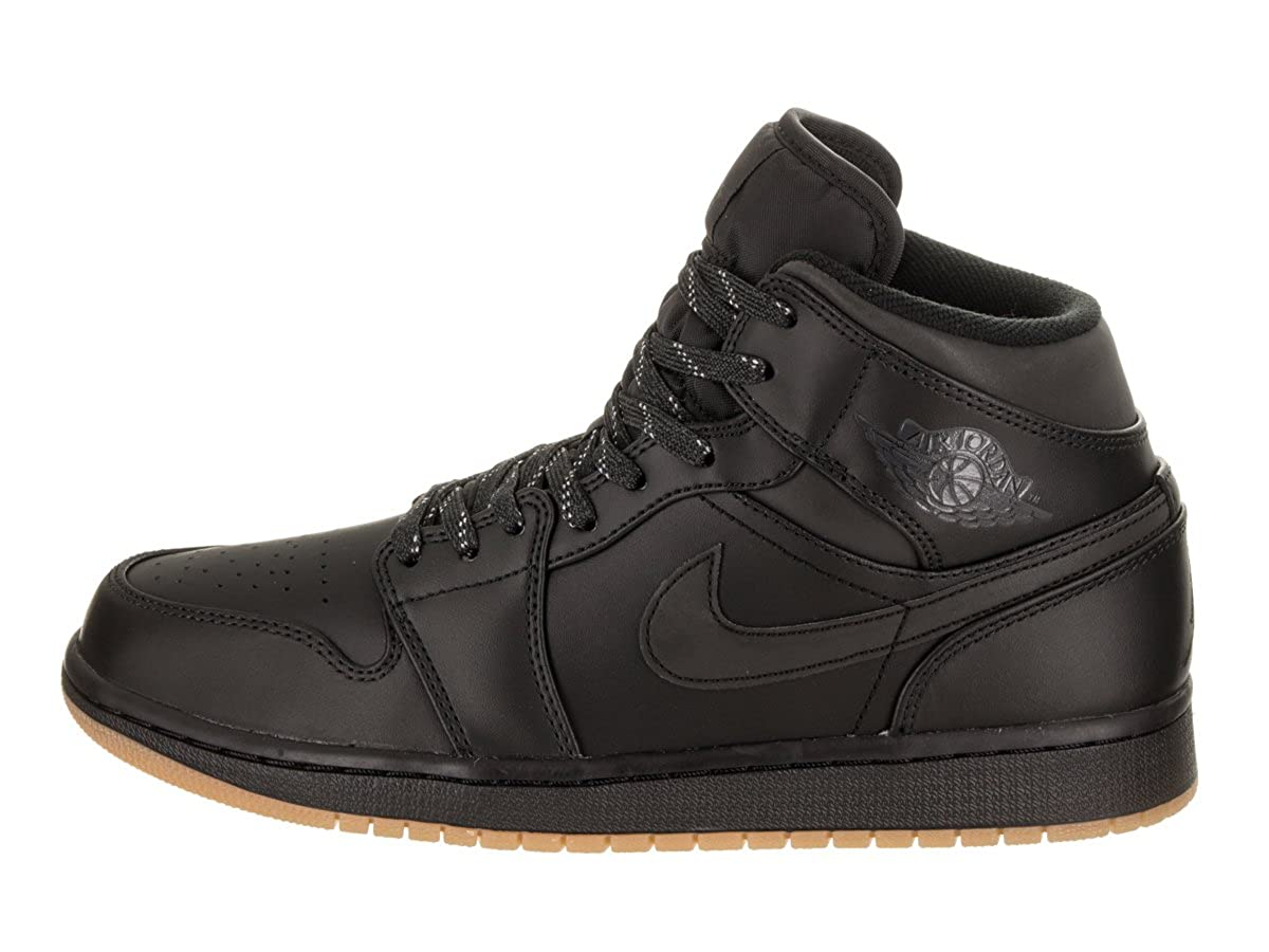 2957ee9e3ae2 Jordan Nike Men s Air 1 Mid Winterized Basketball Shoe  Amazon.co.uk  Shoes    Bags
