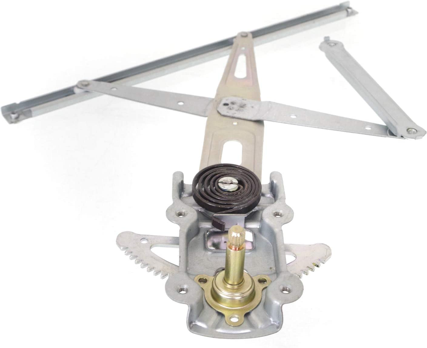Window Regulator Compatible with 2007-2012 Toyota Yaris LH Left Side Manual w//Manual Crank