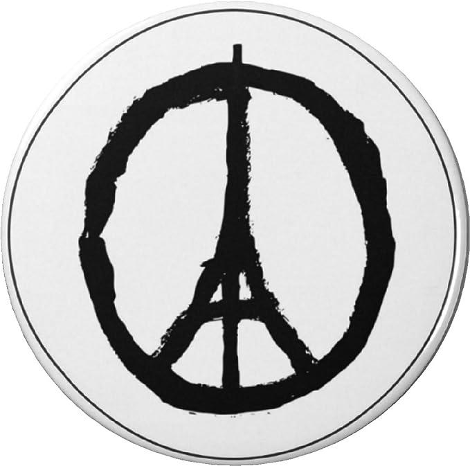 Amazon Qty 10 Peace Sign W Eiffel Tower Blackwhite 225