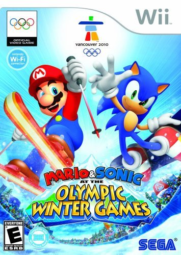 Mario and Sonic at the Olympic Winter Games - Nintendo Wii Beijing 2008 Summer Olympic Games