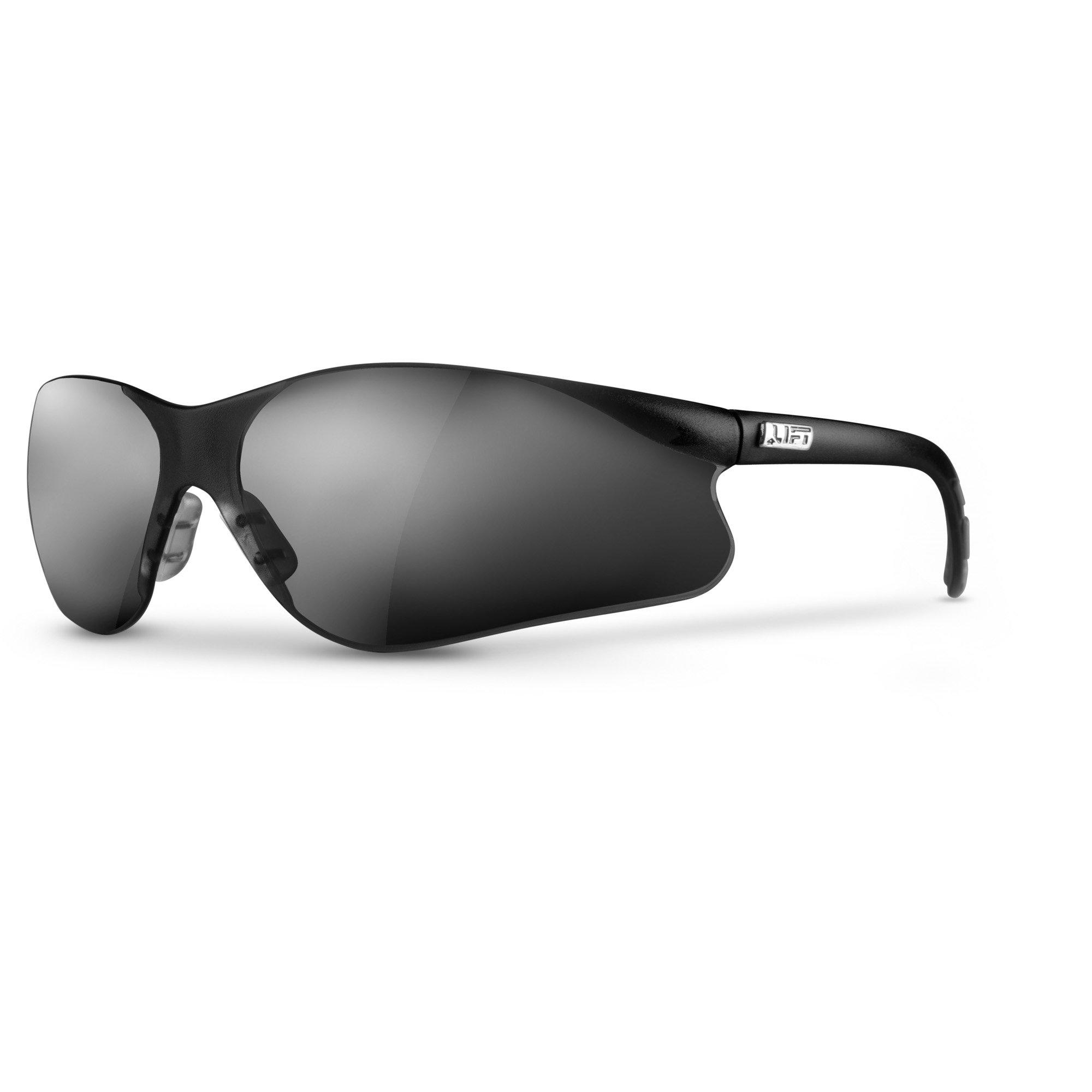 LIFT Safety Sectorlite Safety Glasses (Black Frame/Smoke Lens)