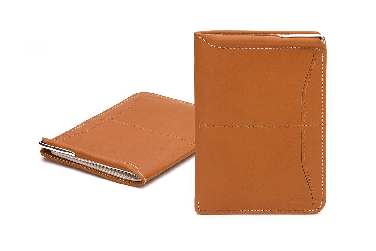 Bellroy Leather Passport Sleeve Wallet Tan WPSA-Tan