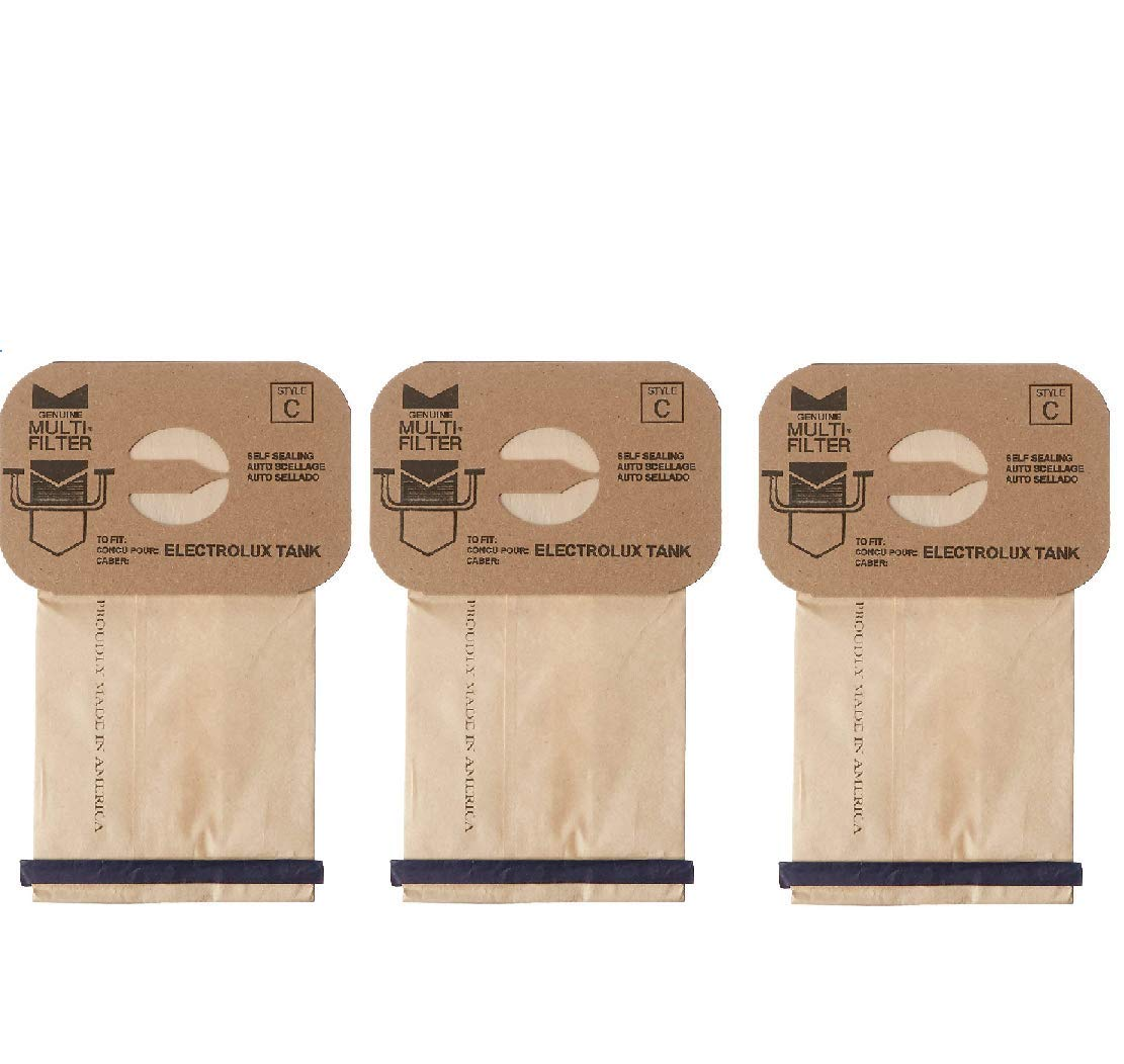 DVC Products Replacement for Electrolux Style C Bags. Allergy Micro Filtration. Case of 100