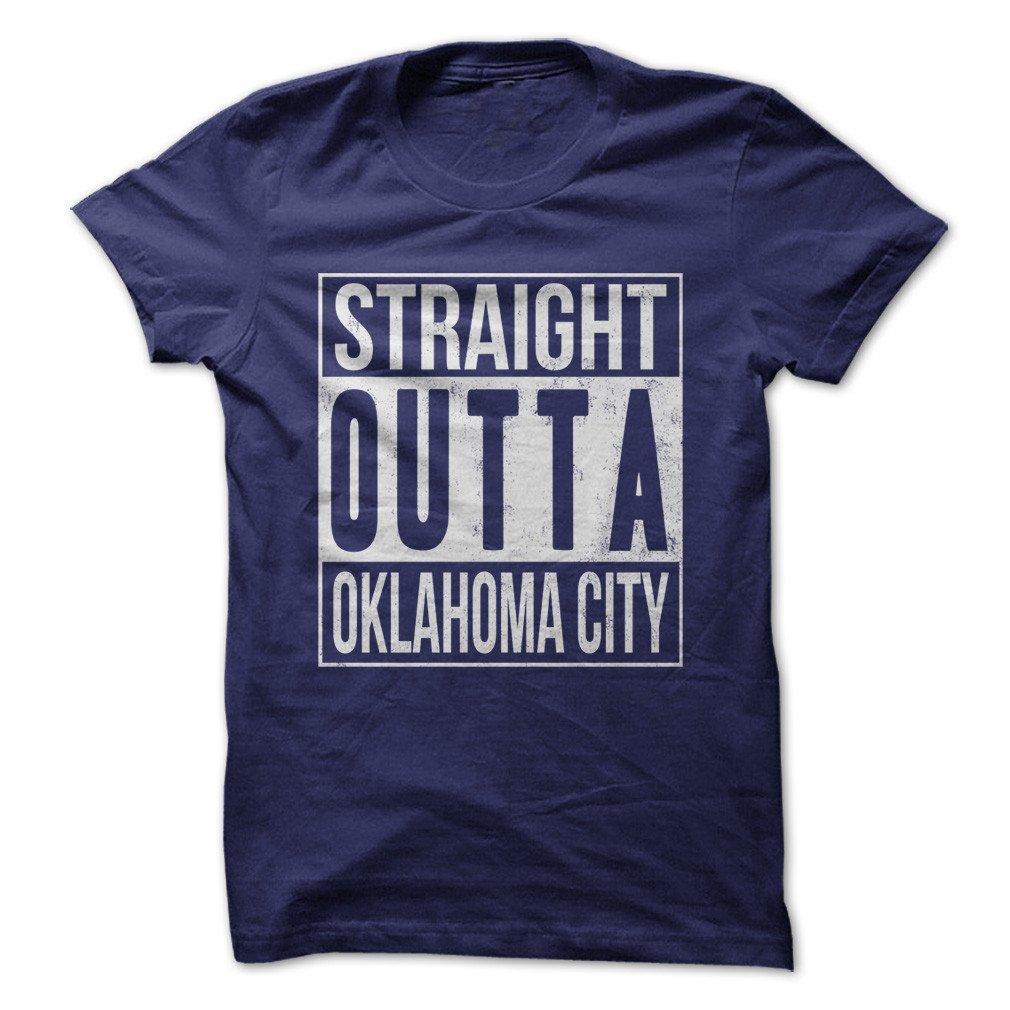 Love Apparel Straight Outta Oklahoma City Funny Made On Demand N Usa 3388 Shirts