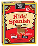 Magnetic Poetry Kids' Spanish Kit - Ages 5 and Up - Words for Refrigerator - Write Poems and Letters on the Fridge - Made in the USA
