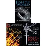 Shattered Sea Series 3 Books Collection Set by Joe Abercrombie (Half a King, Half the World, Half a War)