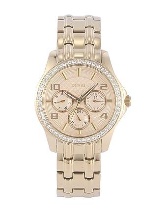 Guess Reloj Análogo clásico para Mujer de Cuarzo con Correa en Acero Inoxidable W0403L2: Amazon.es: Relojes