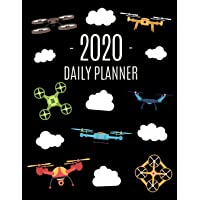 Drone Daily Planner 2020: Cool Daily Organizer for