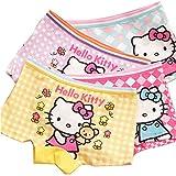 Aliyaer Girls panties toddler Underwear Boxers Briefs Panties 4pack (2-4T, 2020)