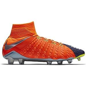cd24871c1 Nike Men s Hypervenom Phantom III DF FG Soccer Cleat - (Deep Royal Blue  Chrome