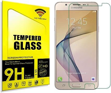 actecom® Protector DE Pantalla Compatible para Samsung Galaxy J7 ...