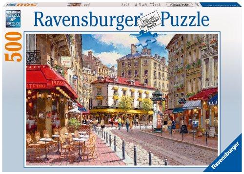 Ravensburger Quaint Shops - 500 Piece Puzzle - Adult Puzzles 500 Pieces