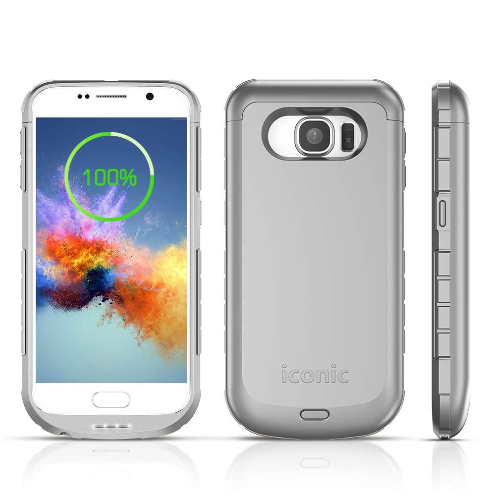 Funda Con Bateria De 4200mah Para Samsung Galaxy S6 Iconic [7tkzwkt6]