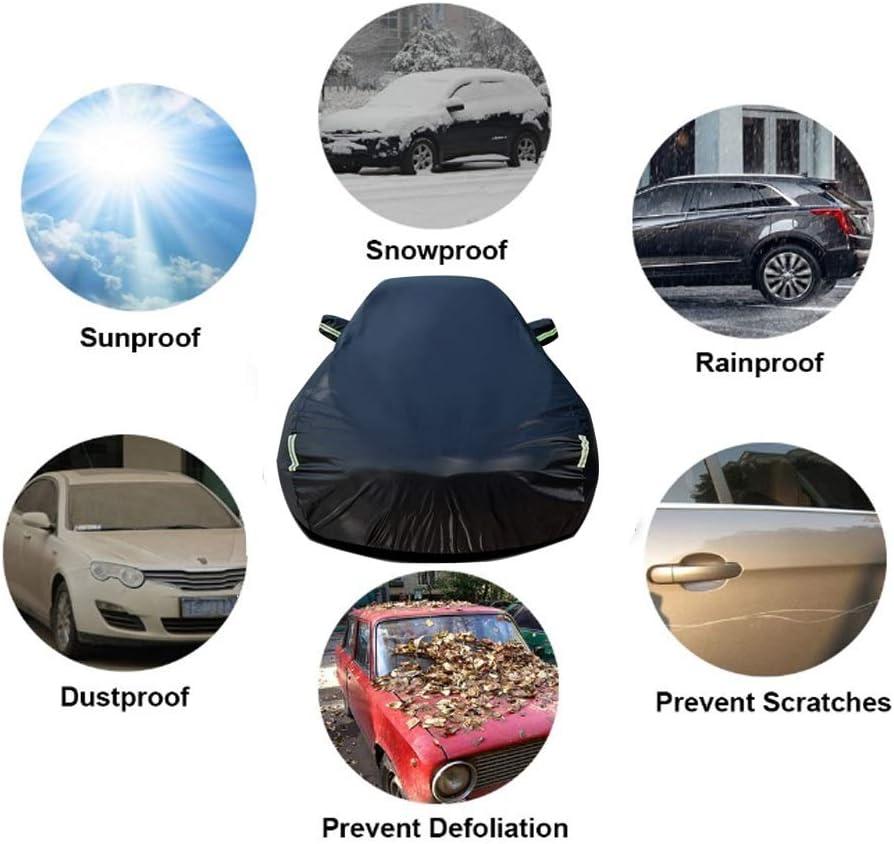 UV-Schutz Size : E200 Sedan Allwetter-Schutz Umfassende Au/ßenverkleidung Wasserdicht Automobile Auto eingebaut Fussel verdicken Autoabdeckung Kompatibel mit Mercedes-Benz E-Klasse