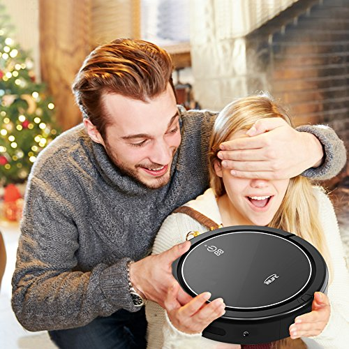 INLIFE i7 Self Robotic Vacuum Strong Suction, Technology for Hard and