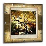 Cheap 3dRose dpp_34033_1 Bonsai Japanese Maple Wall Clock, 10 by 10-Inch