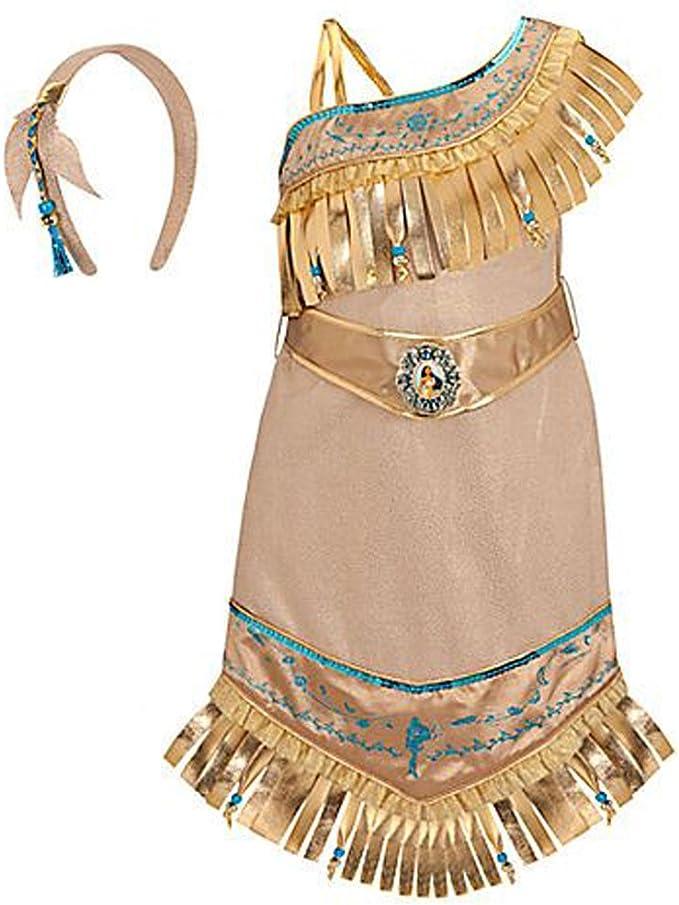 Disney Store Princess Pocahontas Costume for Girls Size XXS 2/3 ...