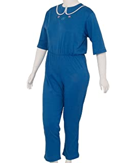 9e6b938959da Womens Special Needs Anti-Strip Jumpsuit w Zippered Back at Amazon ...