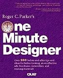 Roger Parker's One Minute Designer, Parker, Roger, 1565292162