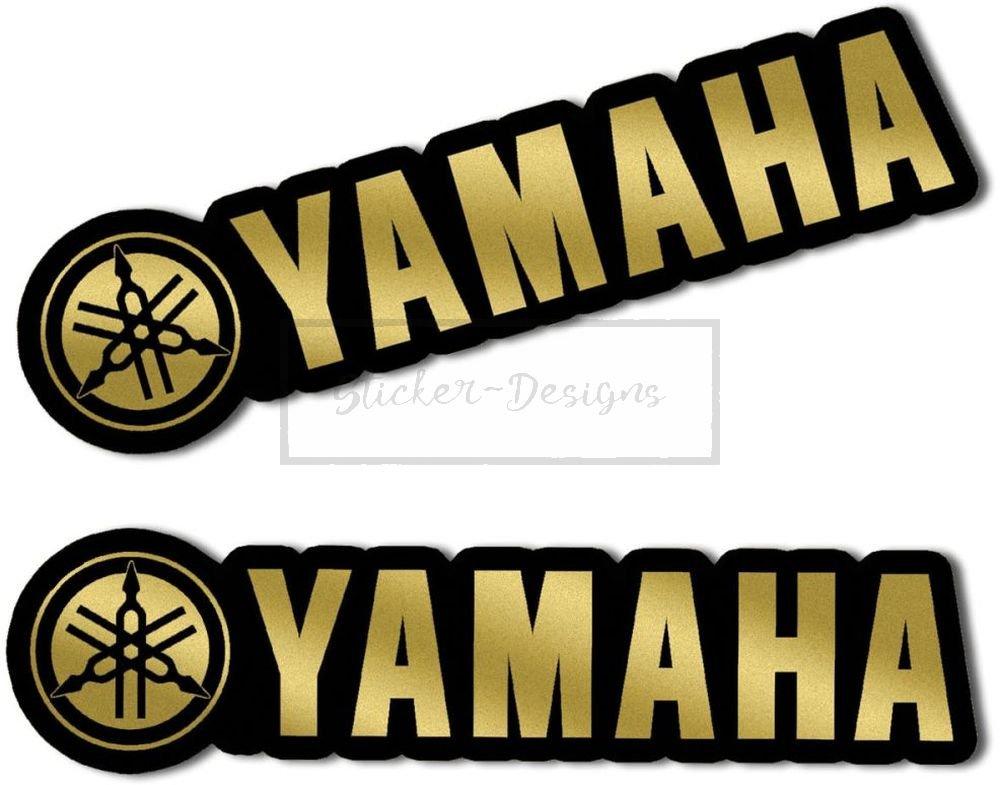 Bild2 !F/ür ausgeschnitten Umriss Sticker-Designs/® ca.7.5cm YAMAHA GOLD Bike119 viele Jahre haltbar,Hochleistungs-Druck UV /& Waschanlagenfest,schutzbeschichtete,kratzfeste,Profi-Qualit/ät,bunt ohne Hintergrund-FREIGESTELLT-,Motiv ist auf Kontur