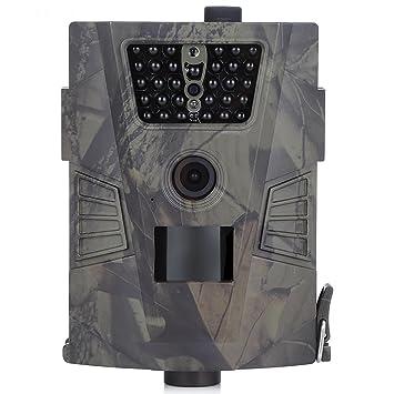 Life-Plus Cámara de Caza Vigilancia 90 Grados 720P HD PIR Sensor de Movimiento Cámara