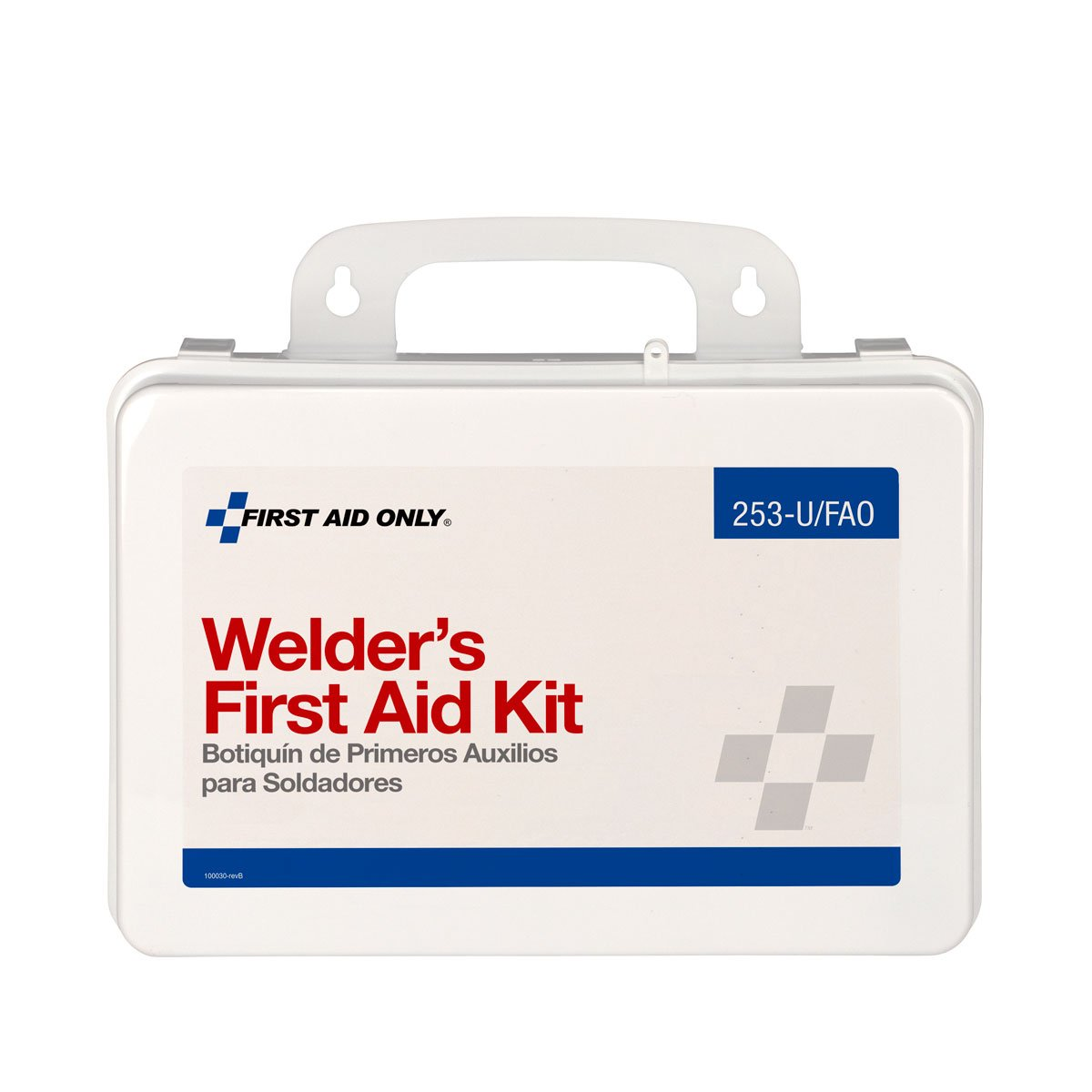 Amazon.com: First Aid Only 16 Unit Welder First Aid Kit, 110-Piece Kit: Health & Personal Care