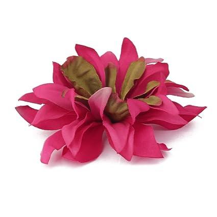 20x Clip Pinza de Flor Artificial Margarita para Pelo Boda Novia Fucsia   Amazon.es  Hogar b35e1668181d