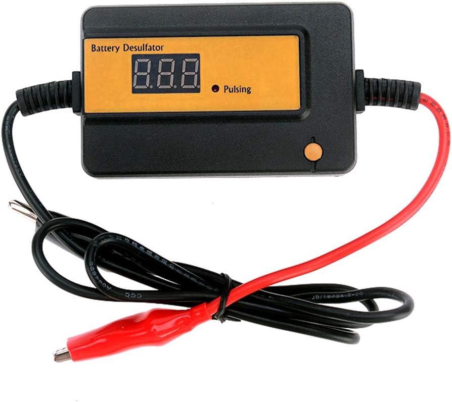 400 Ah Batería Inteligente de Auto Pulse desulfator Naranja para Revive y regenera la baterías para baterías de Plomo-ácido