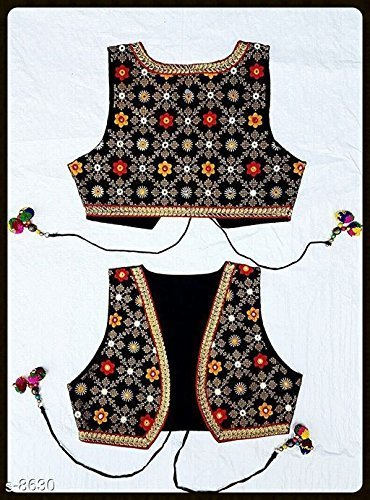 Front Waistcoat - Handmade Embroidered Floral Front and Back elegant Women waistcoat - US Size 14