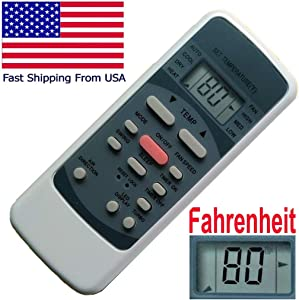 CHOUBENBEN Replacement for Frigidaire Portable Air Conditioner Remote Control FRA113PT1 FRA113PT110 FRA113PT111 FRA11EPT110 FRA11EPT111 FRA123PT110 FRA123PT111 FRA12EPT110 FRA12EPT111
