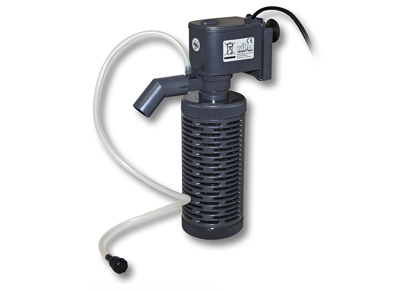 SunSun HQJ-700I Pompe interne d'aquarium avec panier filtre jusqu´à 0.8m 400l/h 8W 50262