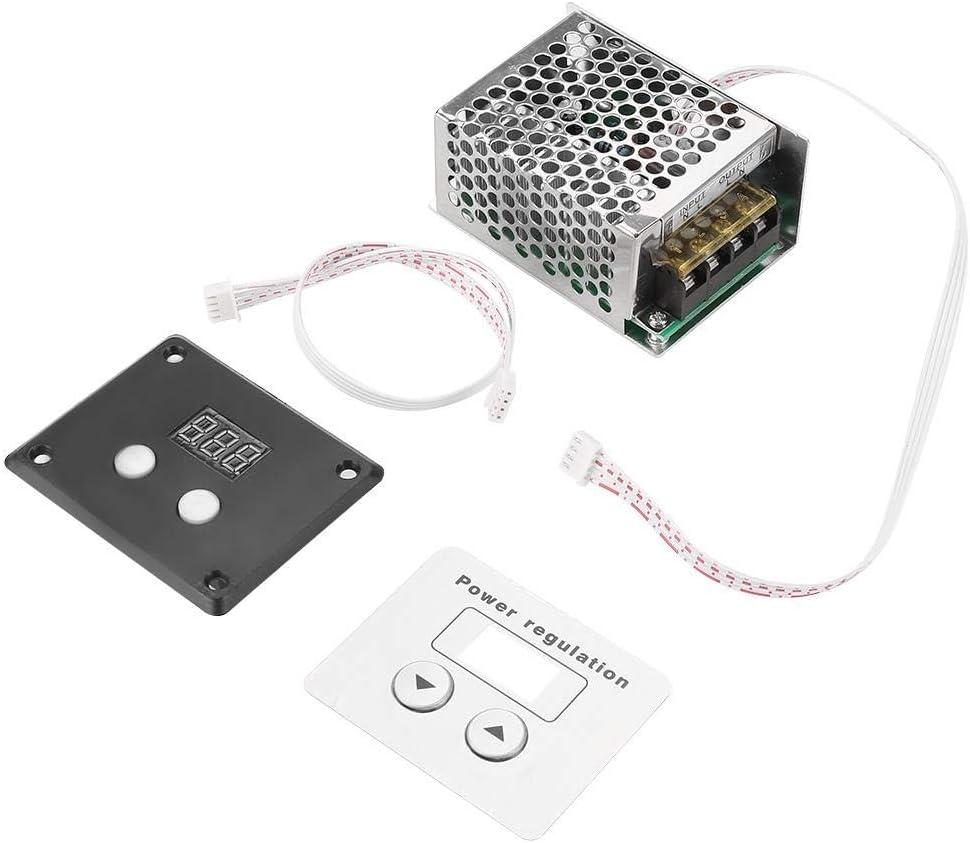 4000W SCR Regulador de voltaje digital Control de velocidad Regulador del termostato AC 220V Controladores de velocidad del motor