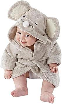 Bebé Albornoz de tiburón, AOLVO algodón Suave bebé Toallas de baño ...